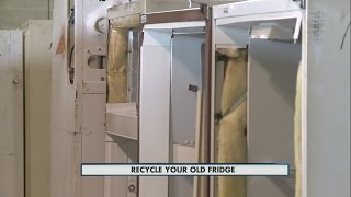 Recycle your old fridge 5-14-15