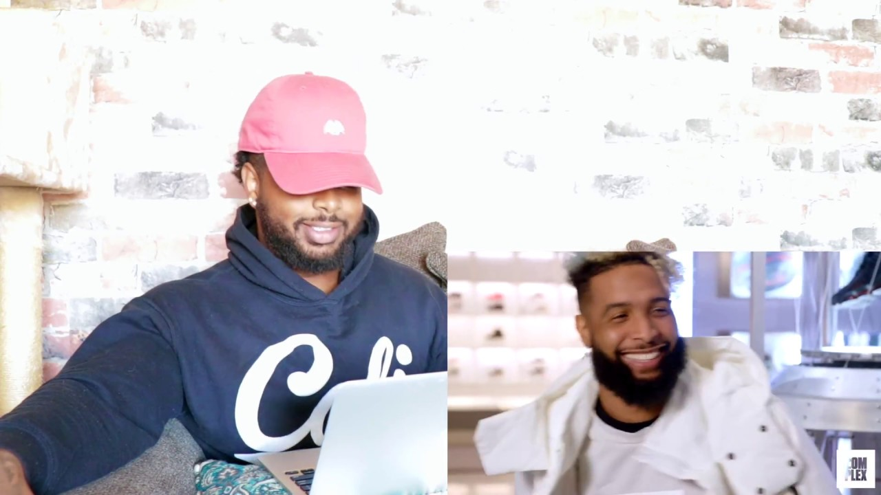 new arrival 0c886 d8a50 Odell Beckham Jr. Goes Sneaker Shopping With Complex | Reaction