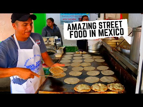 BEST MEXICAN STREET FOOD In GUADALAJARA, MEXICO | Crazy DROWNED Sandwich, CHEESY Tacos + BIRRIA