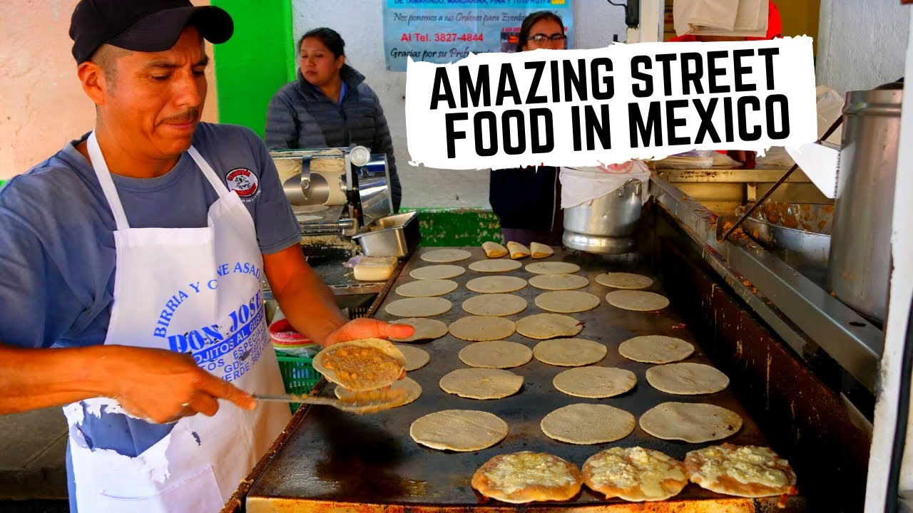 Download BEST MEXICAN STREET FOOD in GUADALAJARA, MEXICO   Crazy DROWNED sandwich, CHEESY tacos + BIRRIA