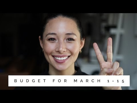 March 2018 Bi-Monthly Budget | How To Budget | Aja Dang