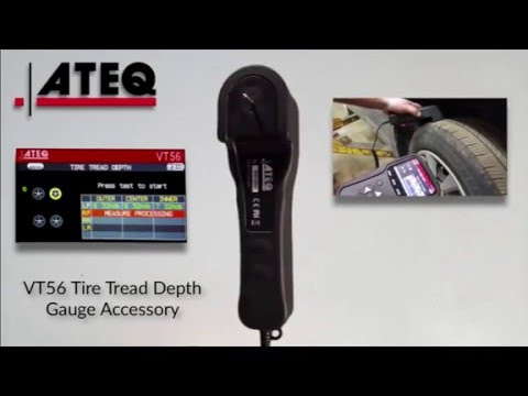 VT56 Tire Tread Depth Gauge Accessory - Features and Functions - ATEQ TPMS Tools, LC
