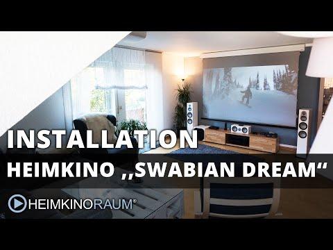 Heimkino ''SWABIAN DREAM'' – made by HEIMKINORAUM Stuttgart