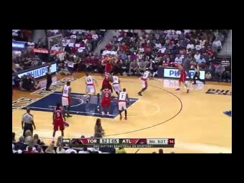 NBA CIRCLE - Toronto Raptors Vs Atlanta Hawks Highlights 1 November 2013 www.nbacircle.com