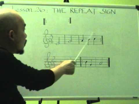 Nhạc lý căn bản bài 26 (Dấu lặp lại)