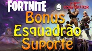 Fortnite-Bonus-Support Squad Heroes Tab