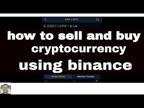 Cryptocurrency trading buy sell