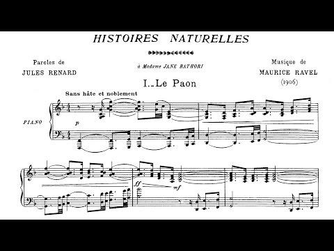 Maurice Ravel - Histoires naturelles (1906)
