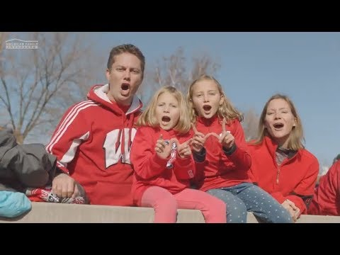 Jump Around For The Badgers   American Family Insurance Badger Fam Club   @AmFam®