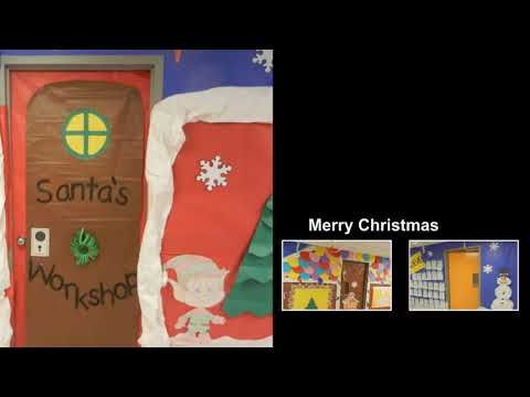 Christmas Doors from Lansberry Elementary School