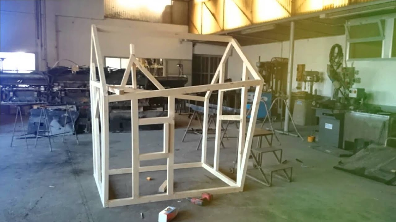 Realizzazione casetta su albero youtube - Case di legno da giardino ...