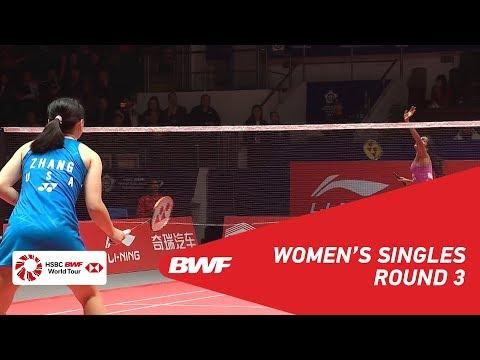 R3 | WS | PUSARLA V. Sindhu (IND) vs Beiwen ZHANG (USA) | BWF 2018