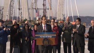 Governor Cuomo Announces Milestone on New NY Bridge Project