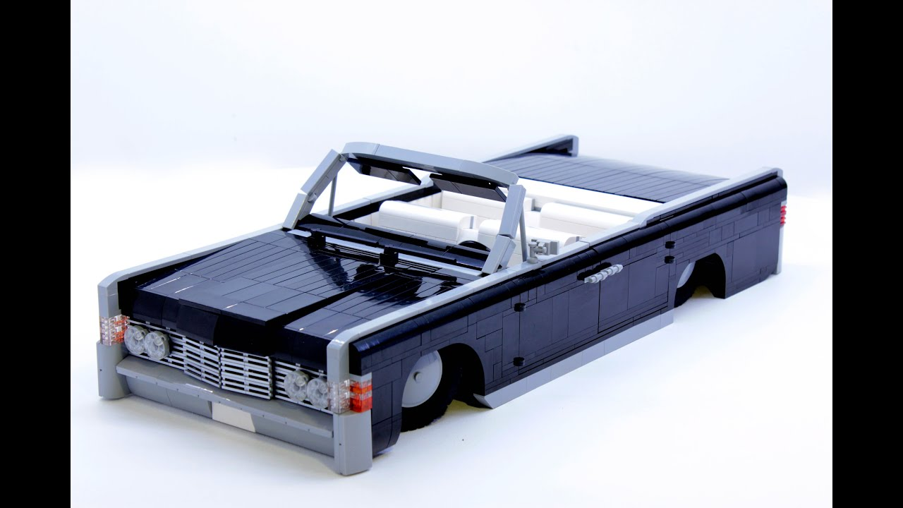 Lego Technic 1965 Lincoln Continental Lowrider Youtube