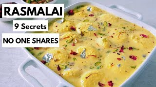 Rasmalai Recipe - 9 Secrets that No One Shares