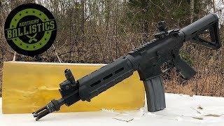 Full Auto AR-15 vs Ballistic Gel (Full Auto Friday)