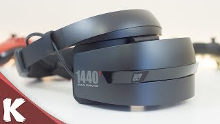 Microsoft HP Mixed Reality Dev Kit Headset First Impressions