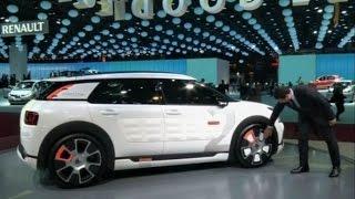 видео Citroen C4 Cactus 2l Airflow: 2 литра на 100 км