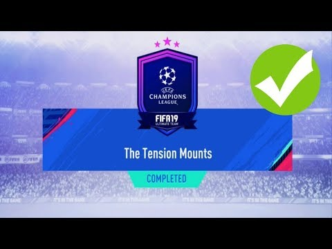 The Tension Mounts SBC Completed - Cheaper Than Futbin - Fifa 19
