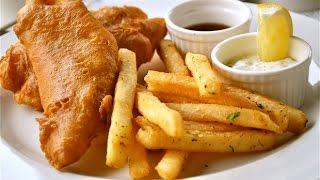 Это не рыба в кляре.Это кулинарный КОШМАР!!Fish & chips.