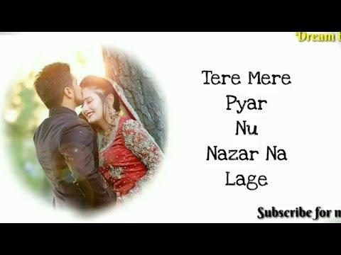 Tere Mere Pyar Nu Nazar Na Laye|Female Version Status | Subscribe Choice | Bhoomi