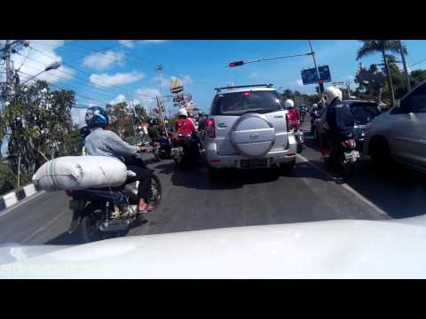 Bali 自駕遊(2015)- Sofitel Nusa Dua Beach to Jimbaran Fish Market  (Video taken by SJ 4000)