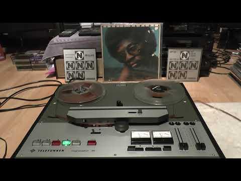 Reel To Reel HQ HERBIE HANCOCK Spider FUNK TUNE, 1971 Telefunken M28 Broadcast Recorder