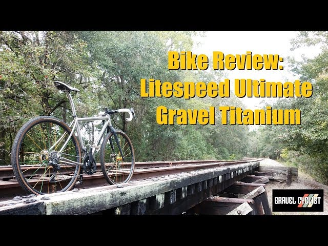 Litespeed ULTIMATE Gravel Bike Review - USA-Made Titanium!