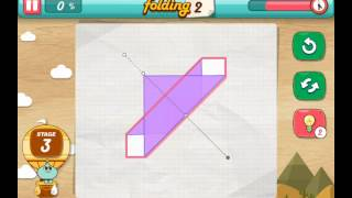 let's fold Lets Fold origami level 3  Walkthrough
