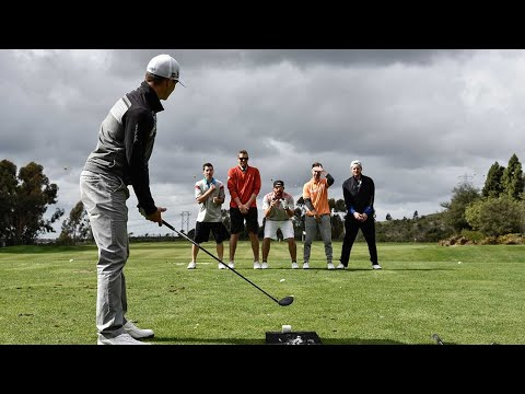 Thumbnail: Long Drive Trick Shots | Dude Perfect