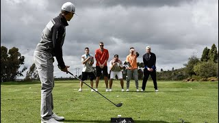 Long Drive Trick Shots | Dude Perfect thumbnail