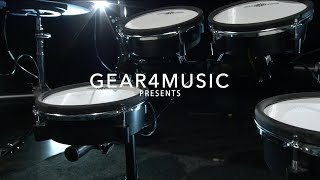 Digital Drums 470X Mesh Electronic Drum Kit by Gear4music Overview