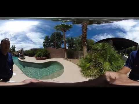 Hangout & Get to Know Me 360 Video Tour (My Vegas Backyard)