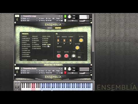 Ensemblia Walkthrough Part1 - Longs and the Voicings