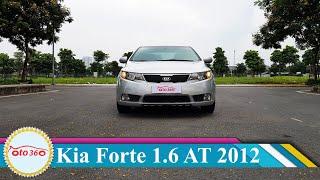 Chỉ hơn 300tr là được sở hữu ngay xe sedan hạng C số tự động, đời cao, biển Hà Nội  Kia Forte 2012