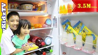 ตู้เย็น-คลายร้อน-ไอติม-มินเนี่ยน-เพียบ-พี่แชมป์น้องปาน-happykidztv