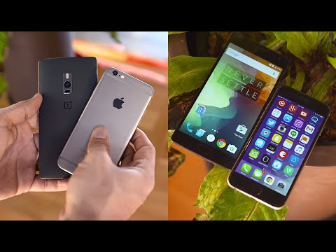 OnePlus 2 vs Apple iPhone 6 - Comparison!
