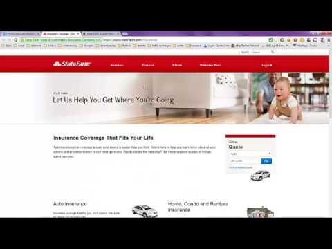 Home and Auto Insurance Quote Bundle with State Farm