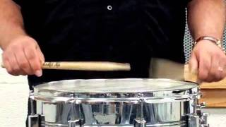 How to Hold Snare Sticks and play alternate sticking
