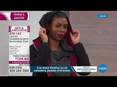 HSN | Cold Weather Fashions featuring Laurier Outerwear Premiere . Http://Bit.Ly/2KBtGmj