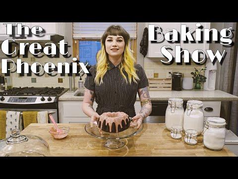 The Great Phoenix Baking Show | Chocolate Cake (vegan)