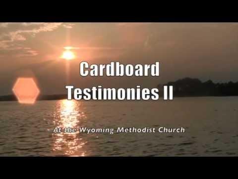 Wyoming Church: Cardboard Testimonies II