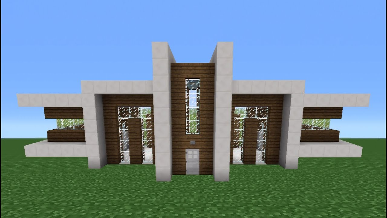 Minecraft utorial: How o Make Quartz House - 6 - Youube - ^