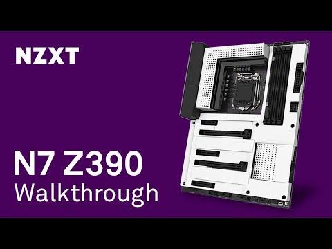 NZXT N7 Z390 Motherboard Walkthrough