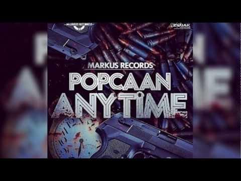 Popcaan - Anytime Instrumental Remake