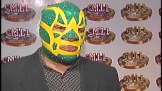 El Santo y Blue Demon leyendas de la lucha libre mexicana.