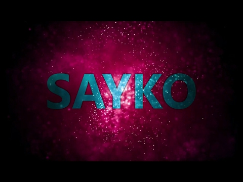 Allâme - Sayko (Kinetic Typography)