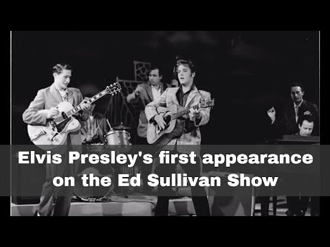 9th September 1956: When Elvis first appeared on The Ed Sullivan Show