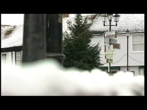 BBC Look East Police Commissioners & Coggeshall Christmas Tree Health & Safety & Snow Pictures