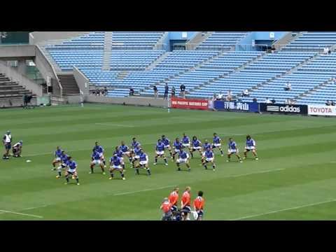 2012/06/10 PNC フィジーVS サモア試合前ウォークライ
